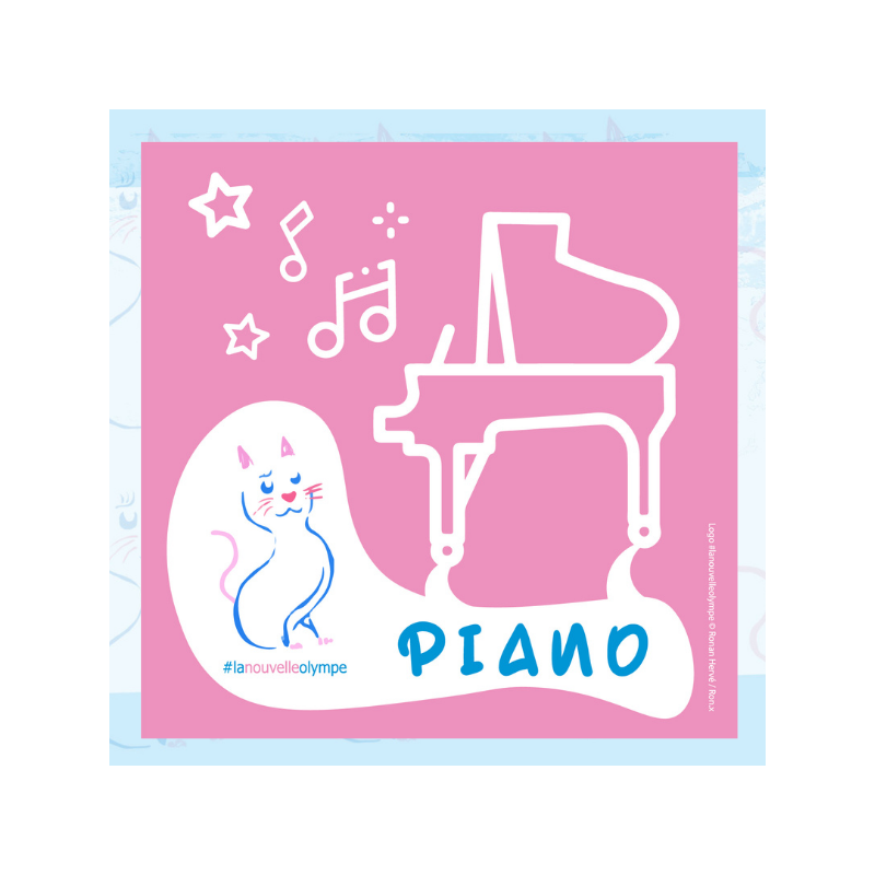 CD #lanouvelleolympe Piano LNO2021PIANO by Joanna Marteel