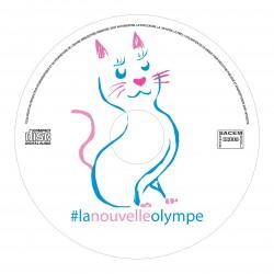 CD #lanouvelleolympe pop-rock LNO2015