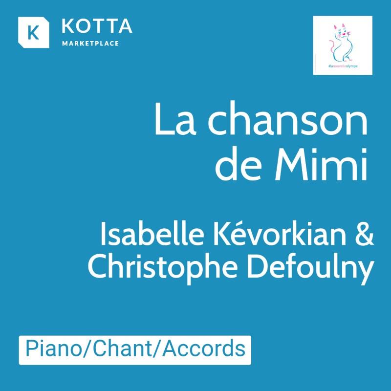 La Chanson De Mimi - partition IKEV07