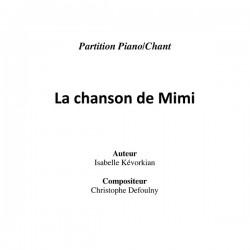 La Chanson De Mimi - partition