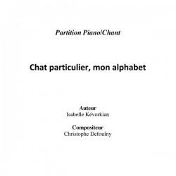 Chat Particulier, Mon Alphabet  - partition