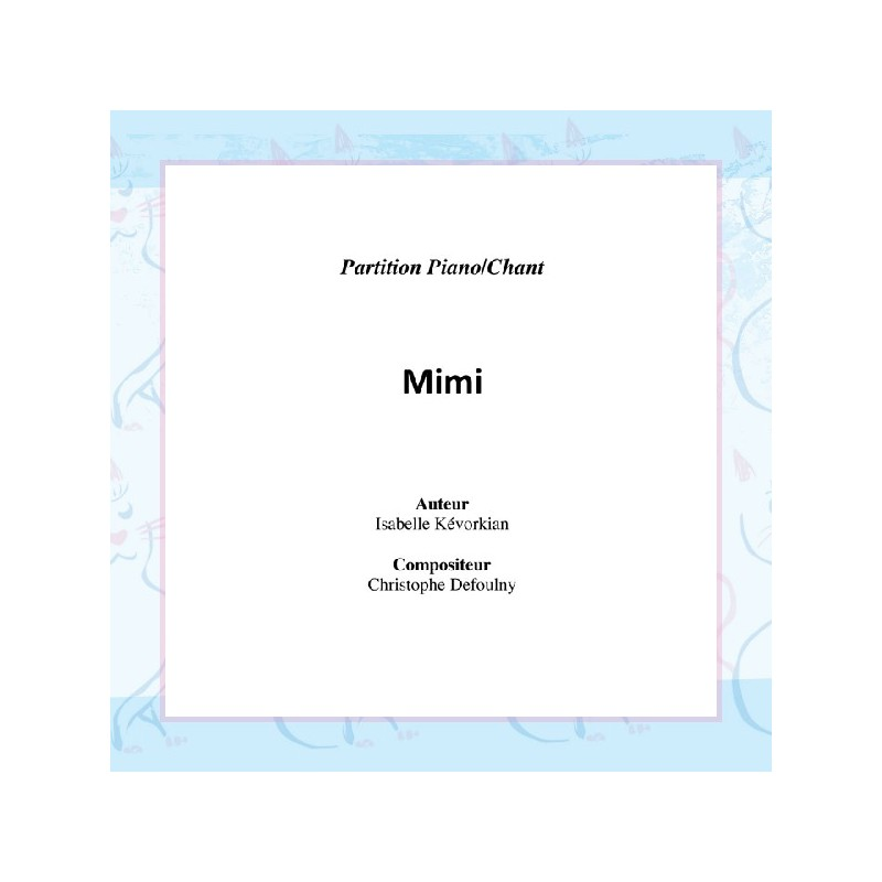 Mimi - partition