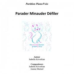 Parader Minauder Défiler - partition