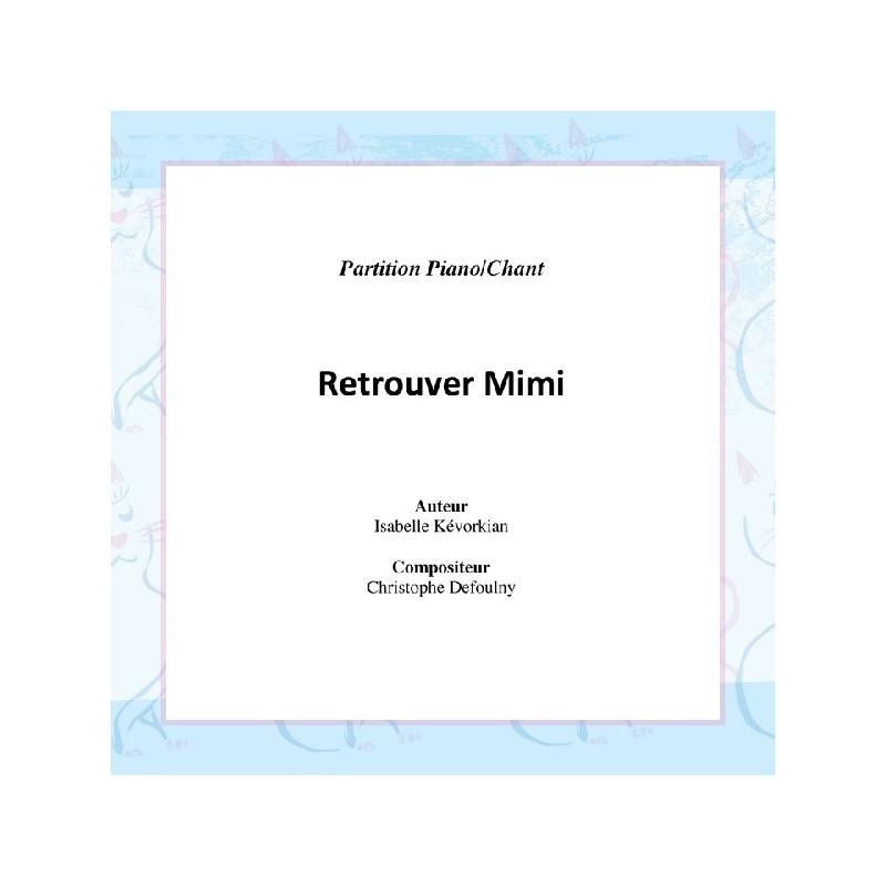 Retrouver Mimi - partition